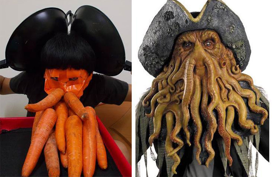 #8 Davy Jones & Cheap Cosplay Guy Creates More Low-Cost Costumes From Household ...