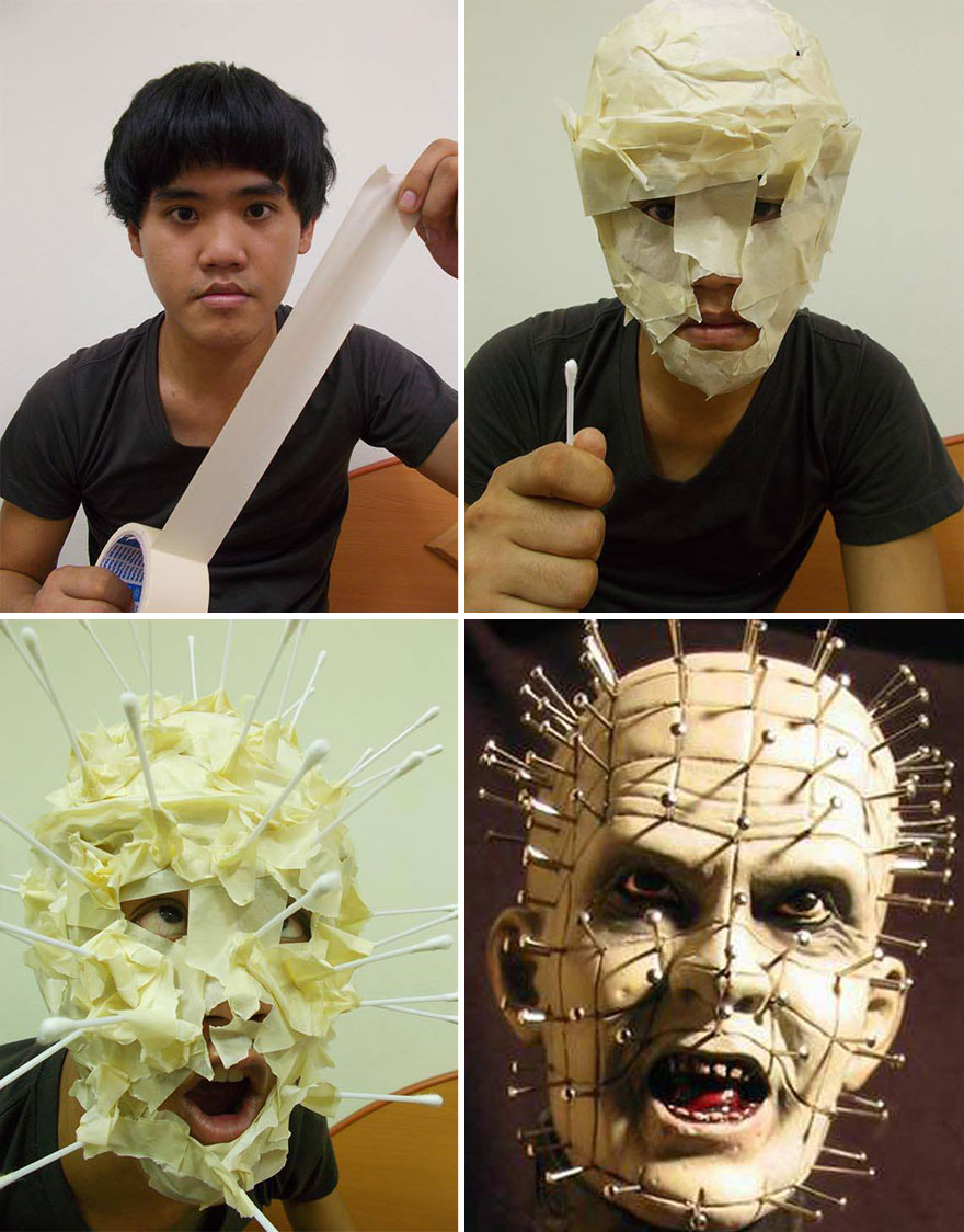 Cheap Cosplay Guy Creates More Low Cost Costumes From Household