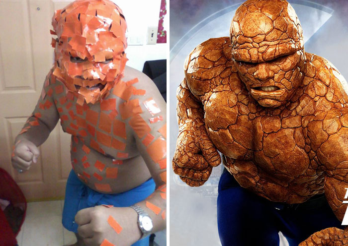 Cheap Cosplay Guy Creates More Low-Cost Costumes From Household Objects