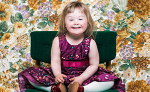 Portraits Of People From 9 Months To 60 Years Of Age With Down Syndrome