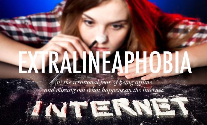 Extralineaphobia