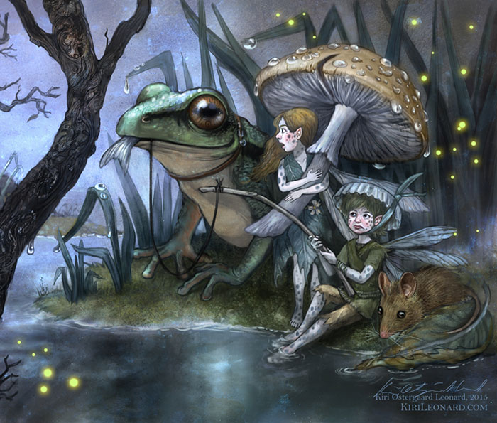 My Illustrations Reveal Hidden World Of Fairies And Magic