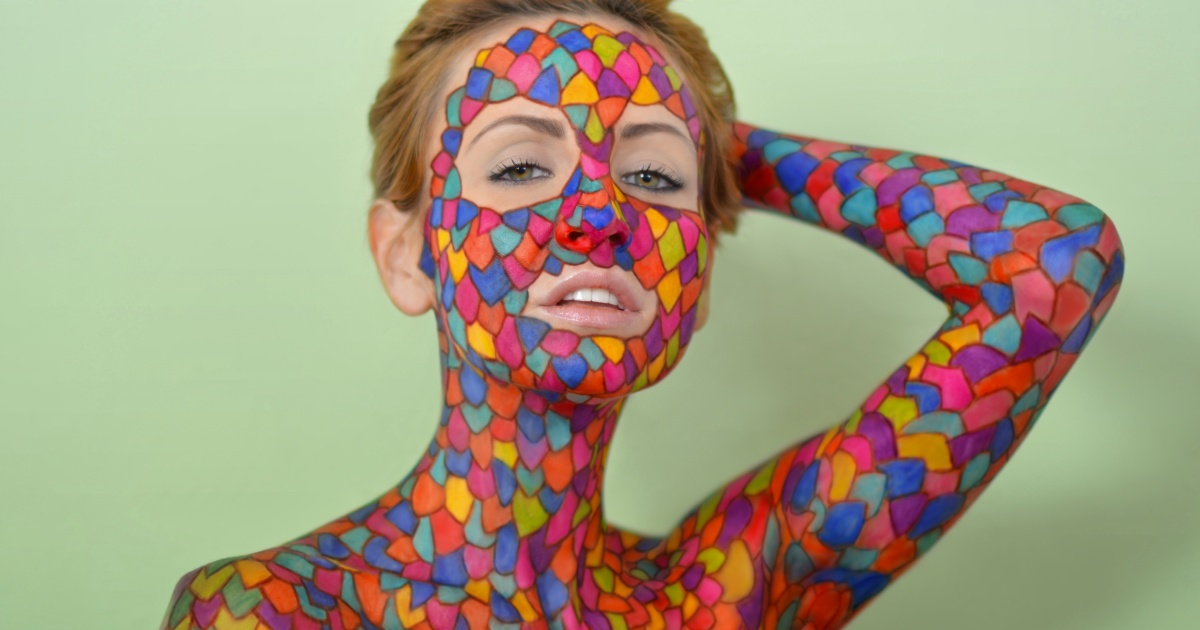 10 Meticulous Sharpie Drawings On A Human Canvas