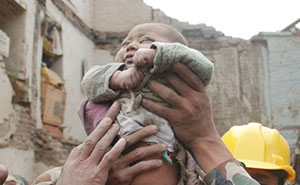 4-Month-Old Baby Trapped For 22 Hours In Nepal Earthquake Rubble Found Alive