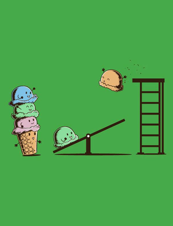 engraçado-daily-ilustração-desafio vôo-mouse-365-4