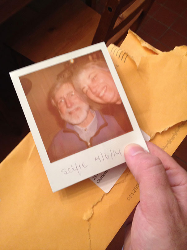 Parents Sent Me A Selfie... In The Mail