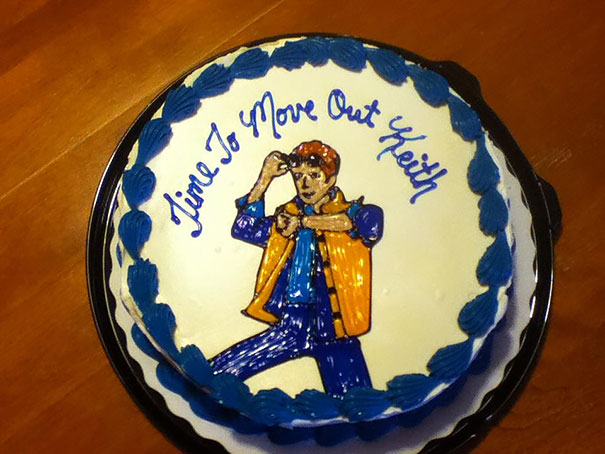 To: My Brother From: My Parents (his 23rd Birthday Cake)