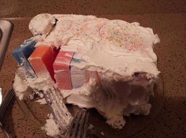 My Friend's Mom Made Us A Cake...