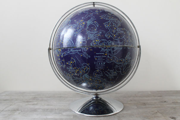 Constellation Map Globe
