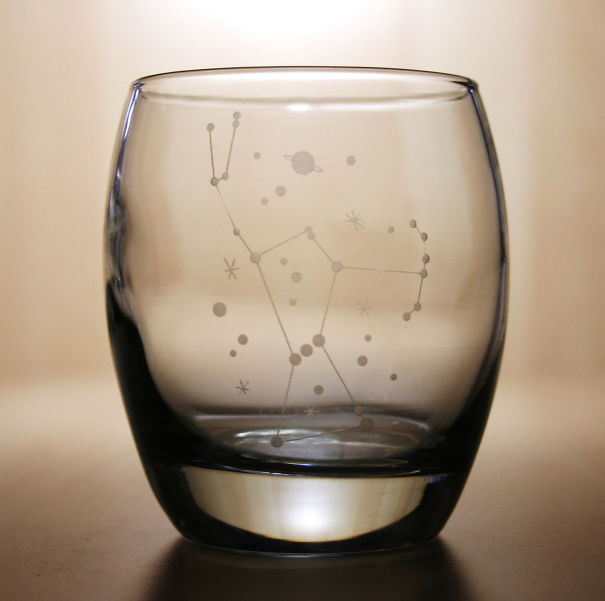 Star Constellation Glass