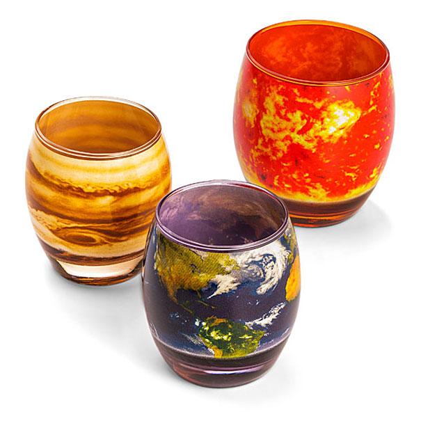 Solar System Glasses