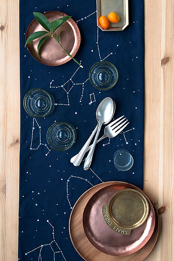 Constellation Table Runner