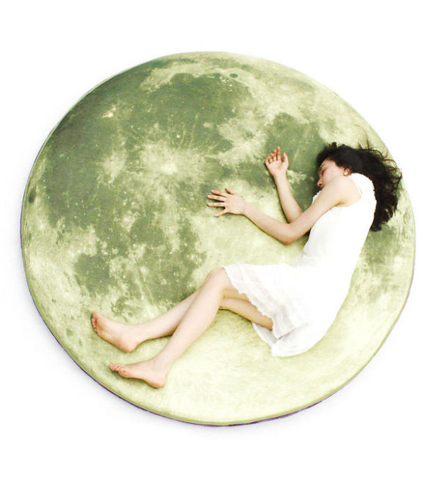 Floor Giant Moon Pillow
