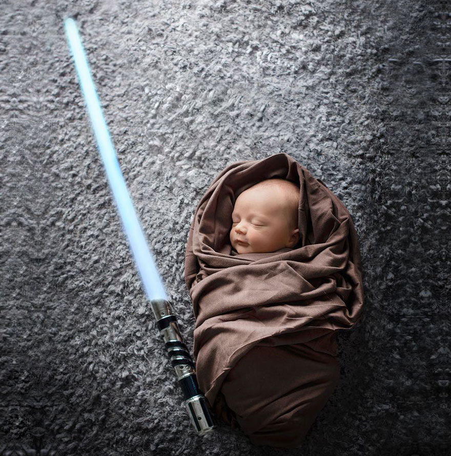 22+ Geeky Newborns Who Are Following In Their Parents ...