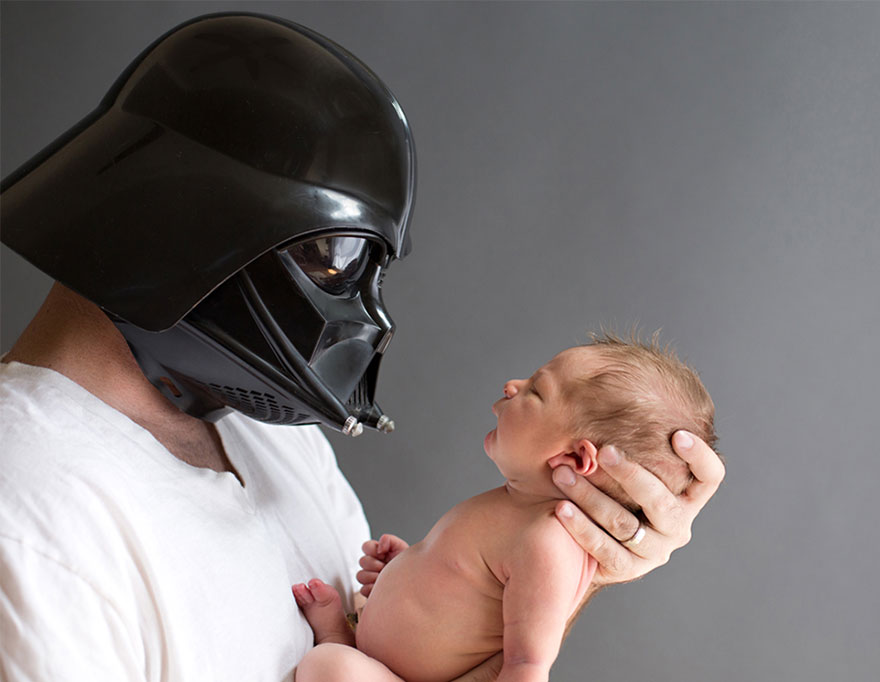 68 Geeky Newborns Who Are Following In Their Parents  Nerdy ... a5c98564a40
