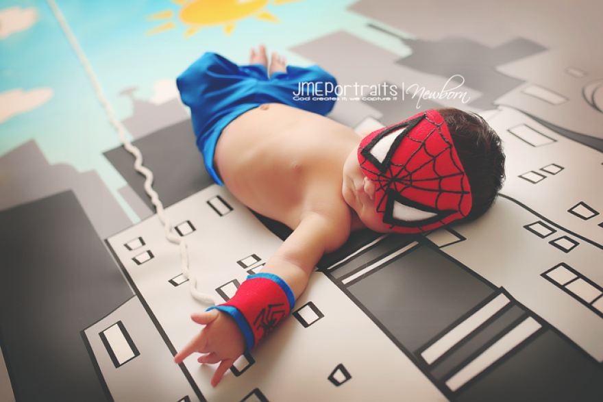 Baby Spiderman