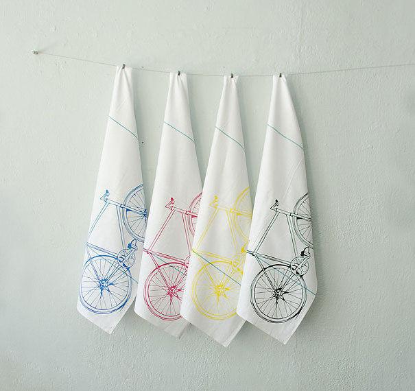 Bike Tea Towel