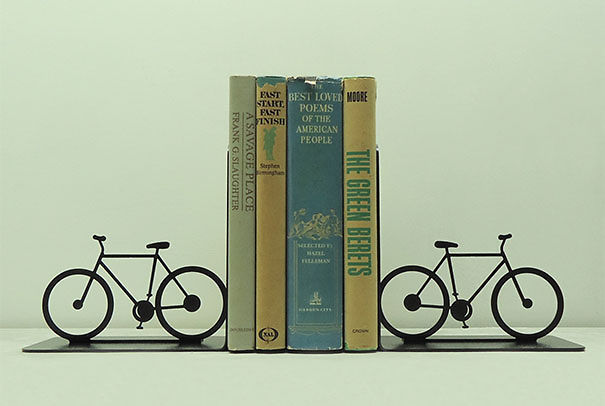Bicycle Bookshelf