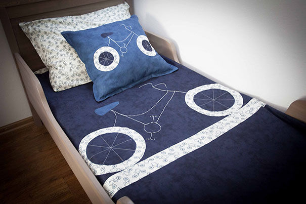 Bicycle Bedding Linen Set