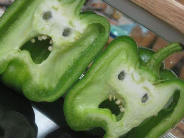 Scared Peppers