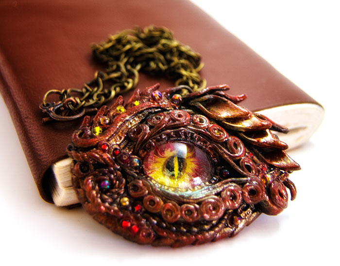 My Hand-Made Dragon Eye Jewelry