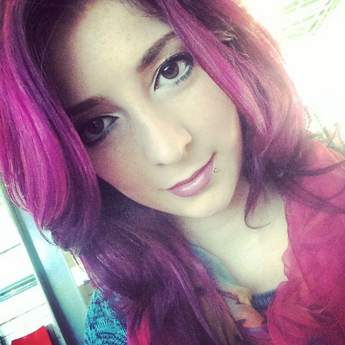 Coloured Hair Life