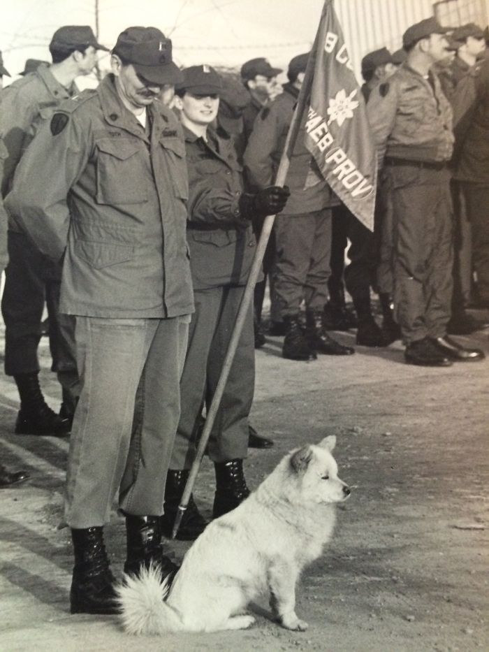 Our Mascot Fang In Camp Humphries South Korea 1980