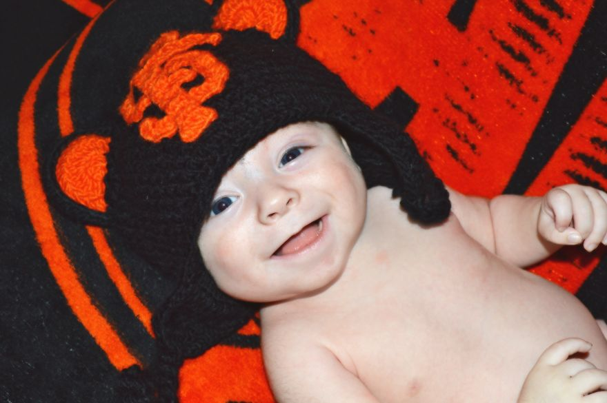 Baby Sf Giants Player