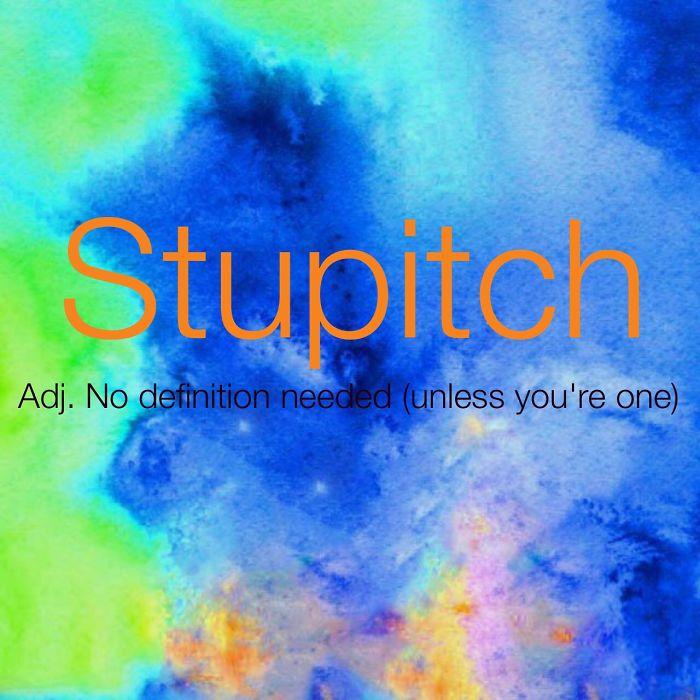 Stupitch