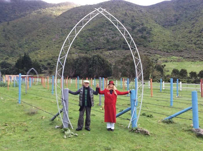 Walk 'labyrinth Of Nations' On World Labyrinth Day…