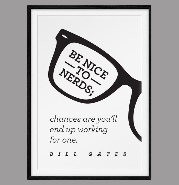 Inspirational Quotes Turned Into Typographic Prints