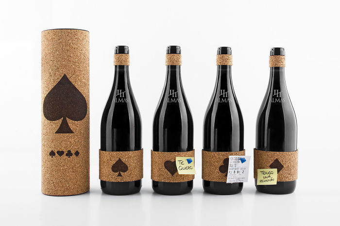 Wine With A Cork Label