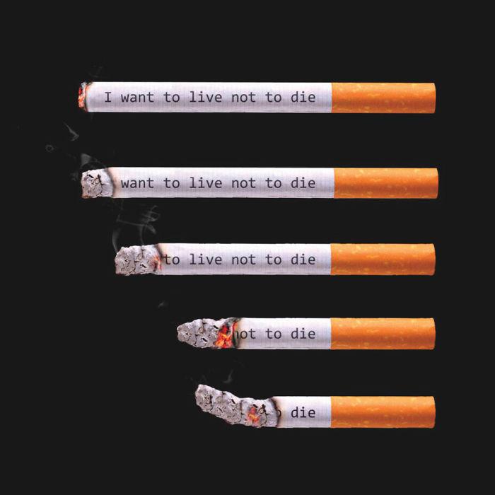 Scary Cigarette Paper Design