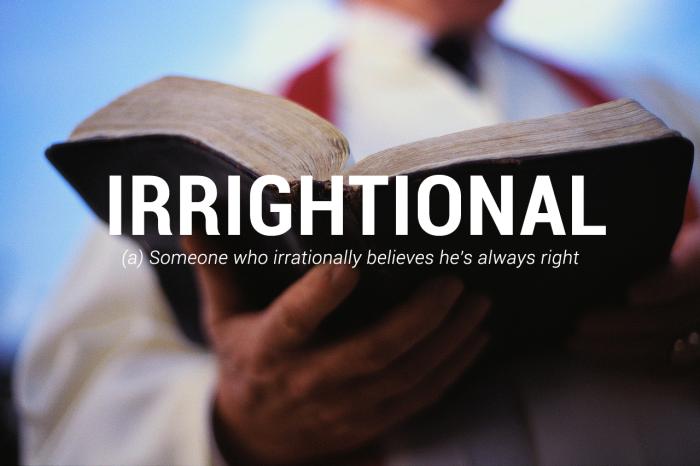 #33 – Irrightional