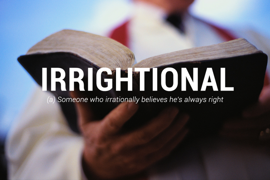 #33 - Irrightional
