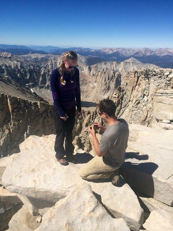 Mt. Whitney 7-2-14 On A Heart Shaped Rock