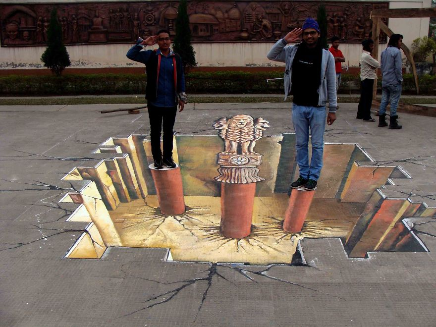 3d Street Art By Art Khafism