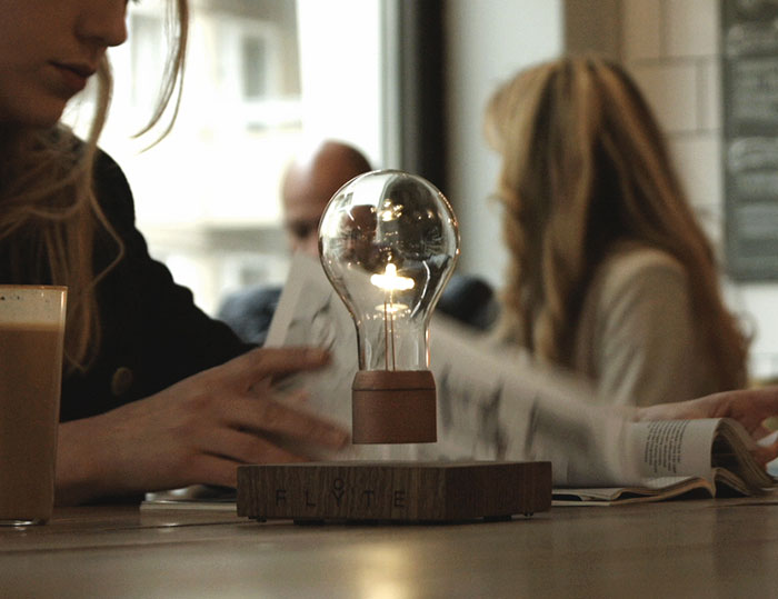 Levitating Light Bulb That Works Without Being Screwed In