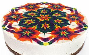 Hypnotizing Mandala Cakes Made Of Raw Vegan Ingredients
