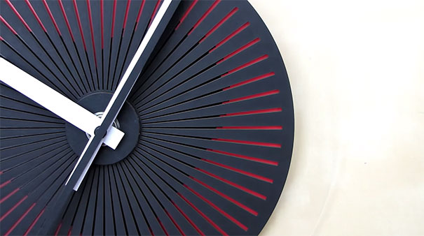 moire-optical-illusion-wallclock-zoltan-kecskemeti