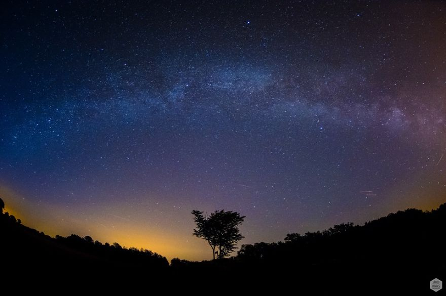 Milky Way; Night Sky By János Kovács
