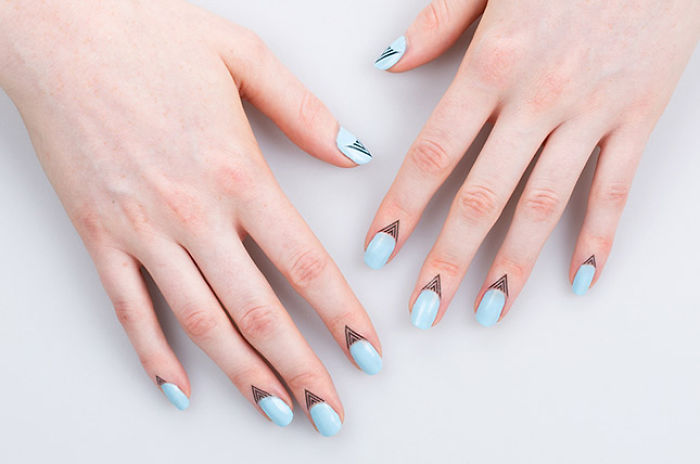 The New Huge Nail Art Trend That Is Not Even On Your Nails