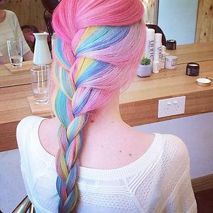 Rainbown Hair