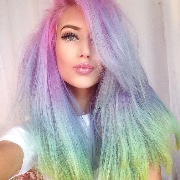 Pastel Hair Color Ideas | POPSUGAR Beauty