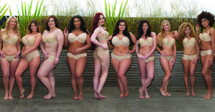 Lingerie Company Remakes Victoria's Secret Ad With A More Realistic Range Of Body Types