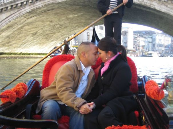 Proposing Under The Rialto Bridge In Venice, Italy. I Learned How To Ask In Italian.