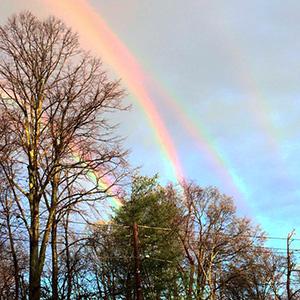 Extremely Rare Quadruple Rainbow Captured Over New York