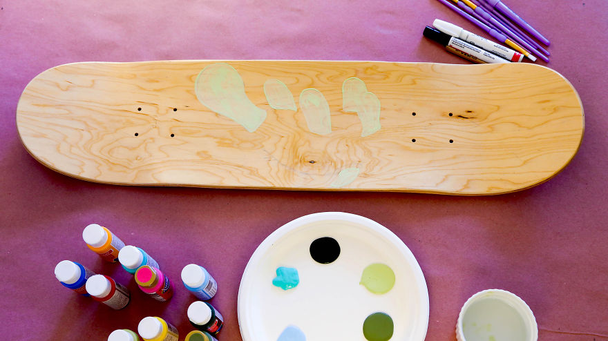My DIY Skateboard Project Inspired By My Adventures In California