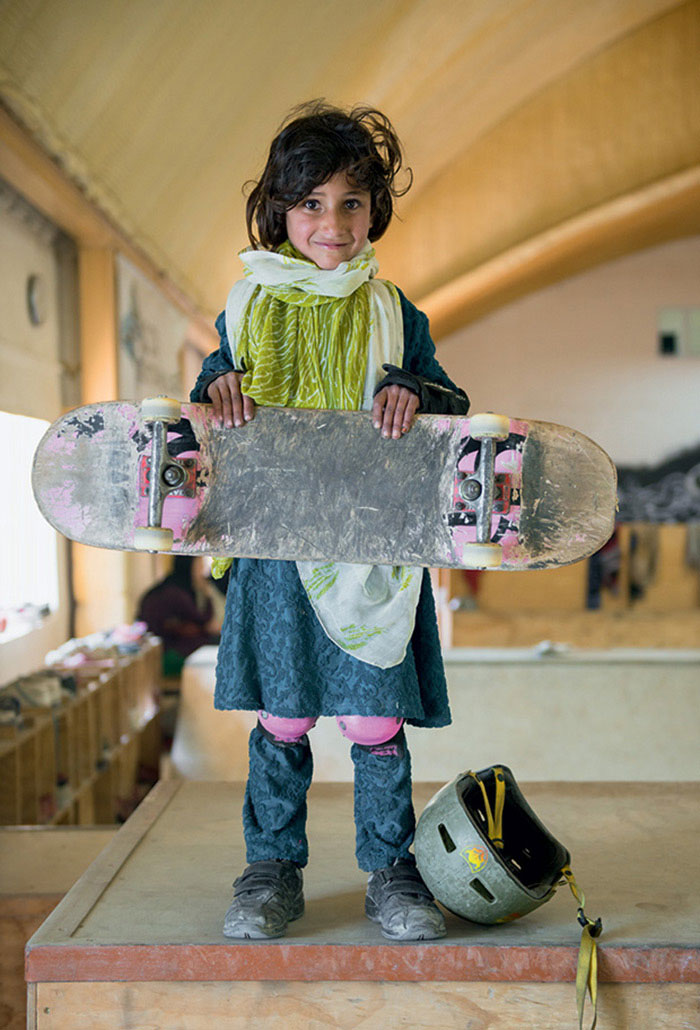Many Afghan Girls Are Not Allowed To Ride Bicycles, So 'Skateistan' Empowers Them With Skateboarding