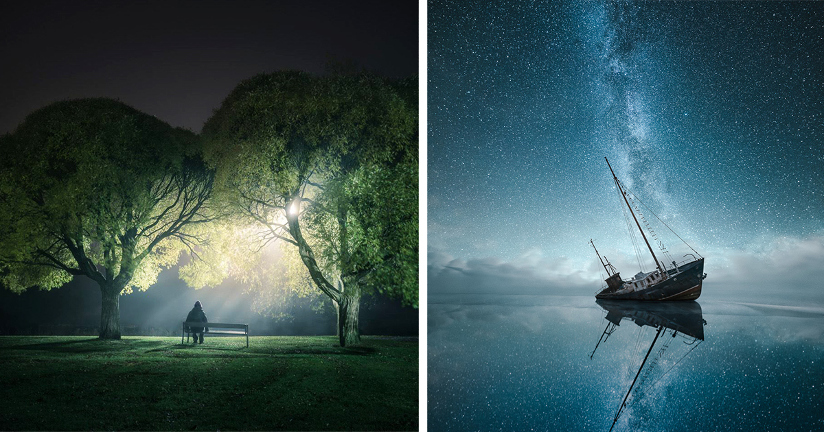Self-Taught Finnish Photographer Takes The Most Otherworldy Night Photos On Instagram